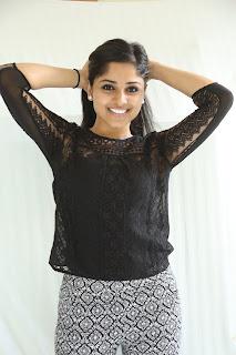 Rehana in Lovely Leggings and White Top at chakkiligintha press meet
