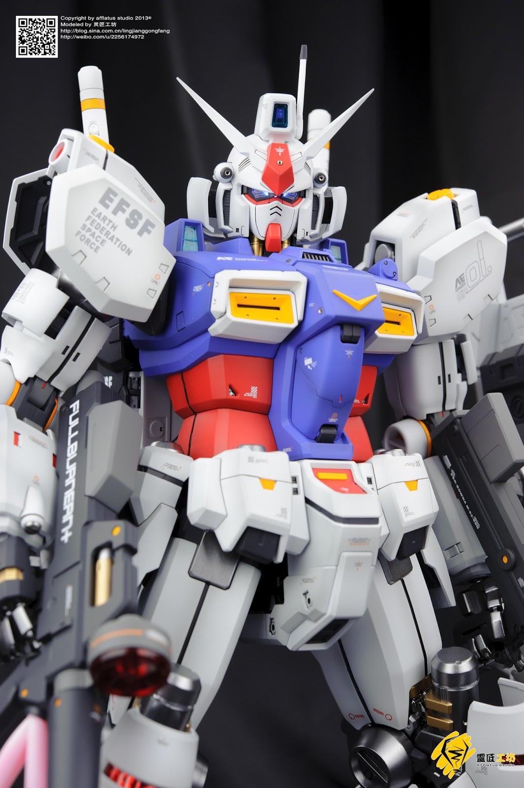 PG 1/60 Gundam GP01/Fb - Customized Build