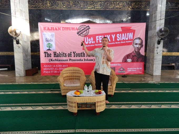 Ustadz Felix Siauw Ramaikan Kajian MPI Lampung