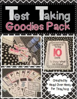 http://www.teacherspayteachers.com/Product/Testing-Goodies-Pack-Countdown-Strategy-Posters-Candy-Cards-Signs-1182399