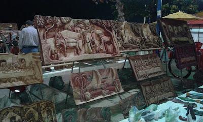 Quadros a venda na Feirinha de Meireles - Fortaleza - CE