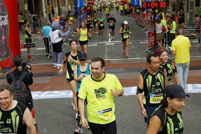 Cursa Vila Olímpica correr solo acompañado