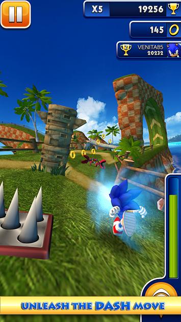 Sonic Dash 1.12.0 MOD APK