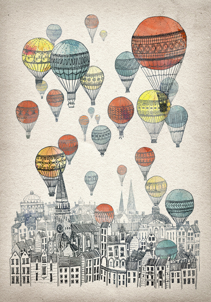 David Fleck, Glasgow illustrator