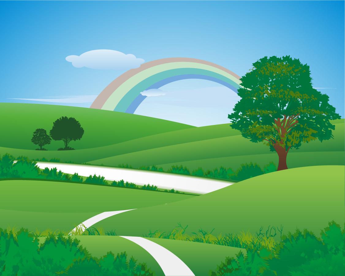 Free Vector がらくた素材庫: 虹の ... : アルファベット ダウンロード : すべての講義