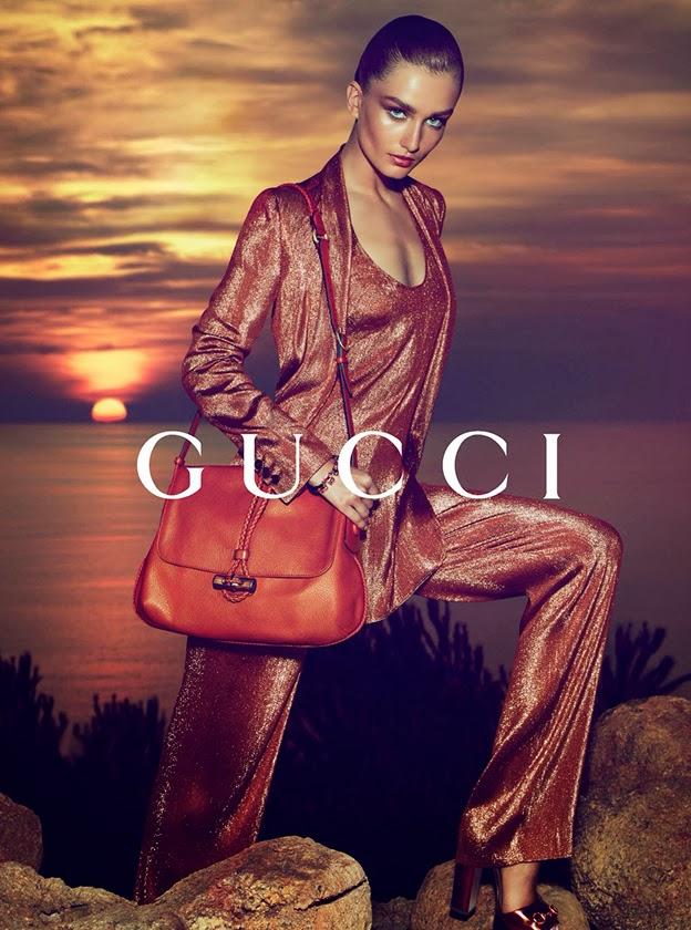 Publicidad Subliminal: Enero 2014 Gucci Cruise Campaign 2014