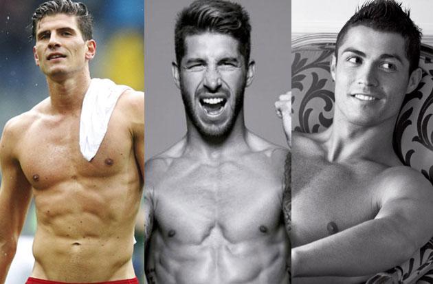 Los 10 futbolistas más guapos y sexys