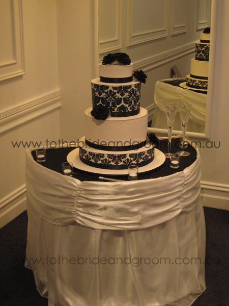 Wedding Ceremony Ivory and Black Themes The Best Wedding Ideas