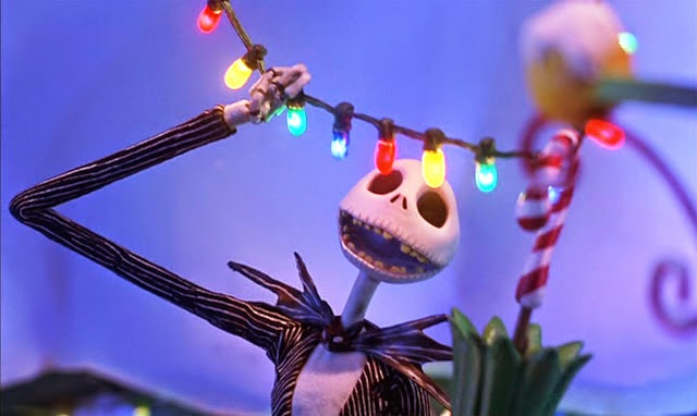 Jack Skellington making Christmastime