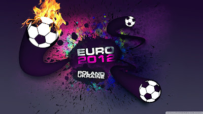 3D Euro 2012 Designs Wallpaper