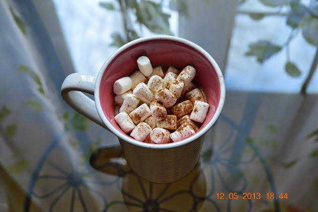 Winter, hot chocolate, marshmallow, cup, mug, yummy, food, cinnamon