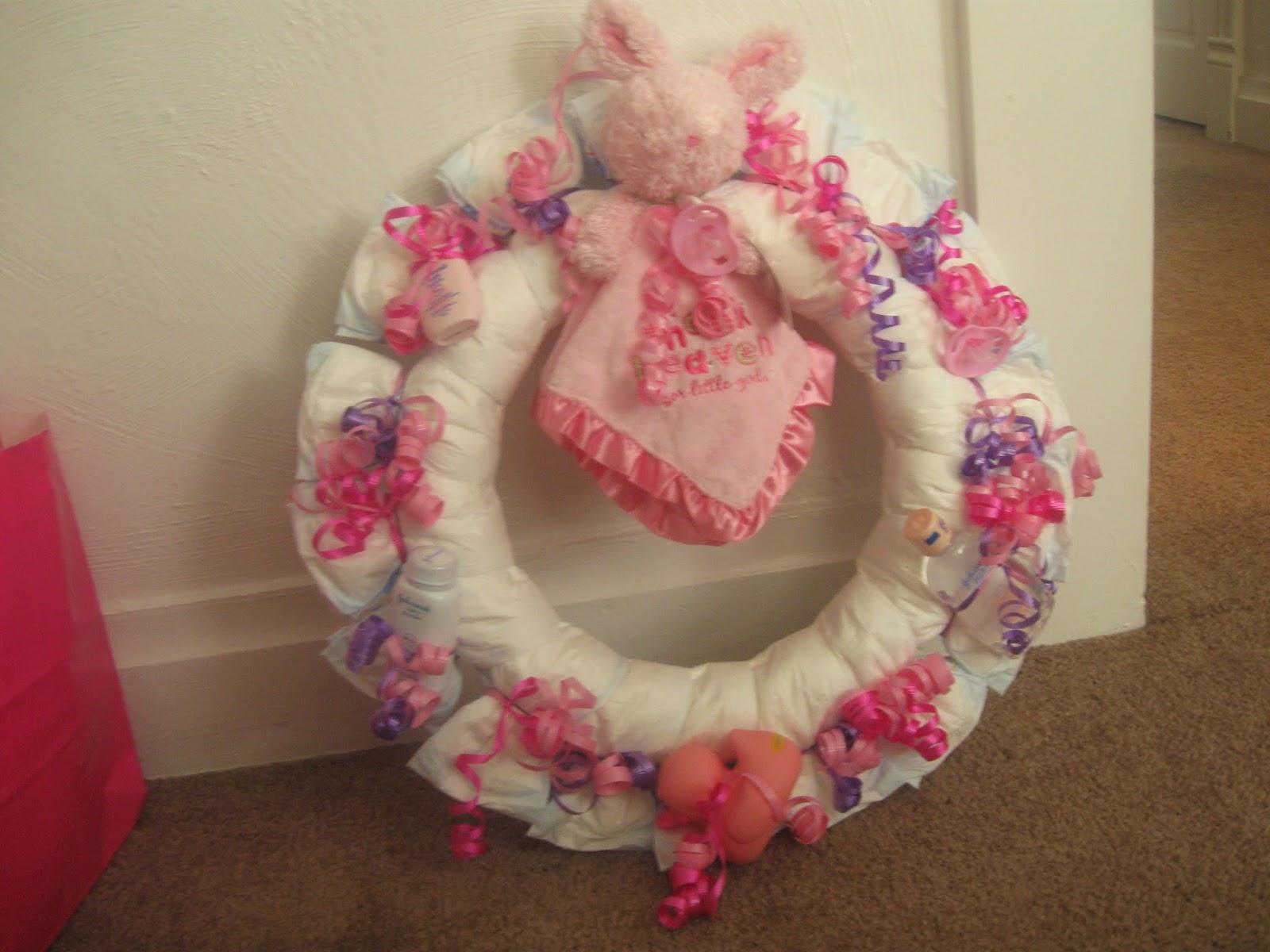 Jamie lynne craft guru shower crafts i have made for gifts for Diaper crafts for baby shower