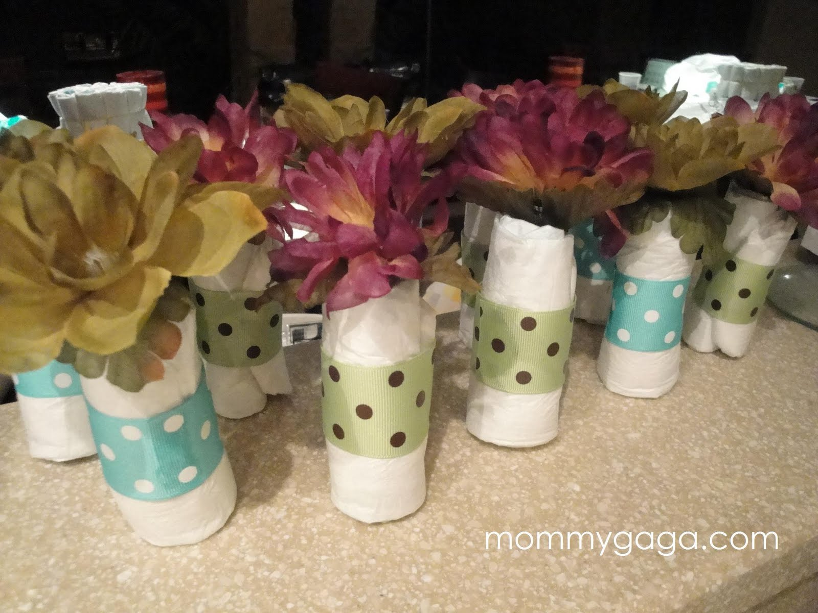 Baby shower simple table decor photograph s mini