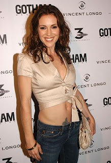 Celebrity Tattoo Design - Alyssa Milano Tattoos