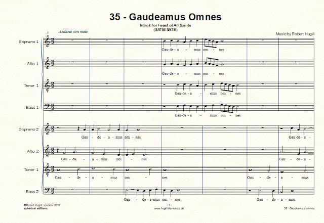 Robert Hugill - Gaudeamus Omnes