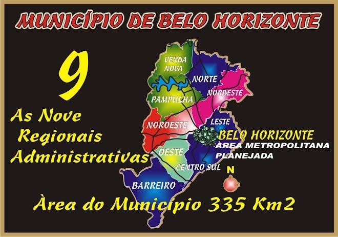 As Nove Regiões Administrativas
