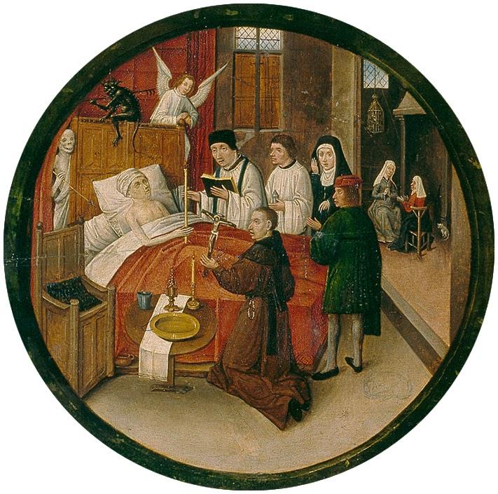 El Bosco - Mesa de los pecados capitales - La muerte