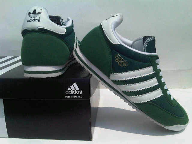 adidas dragon shoes green