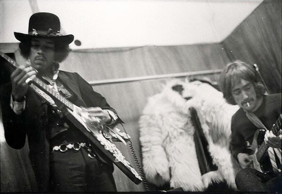 Jimi Hendrix e Dave Mason