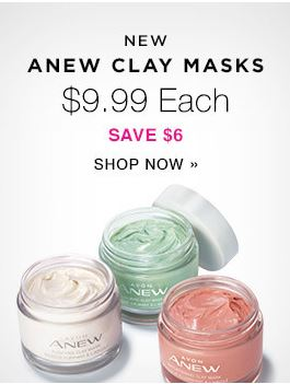 ANEW Clay Masks