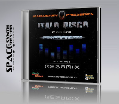 Cover Album of ITALO DISCO contra SPACESYNTH MEGAMIX (by SpaceAnthony)