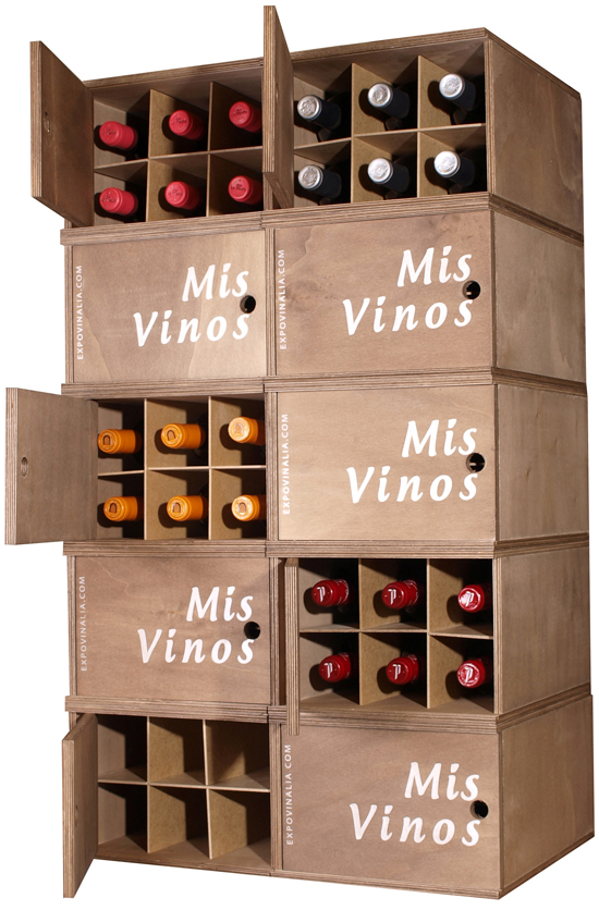 A 39 pallota muebles apilables - Muebles para vino ...