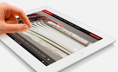 Création site tablettes montpellier