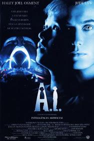 Filme  A.I. Inteligência Artificial Dublado AVI DVDRip