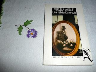 portada del libro Una habitación propia de Virginia Woolf