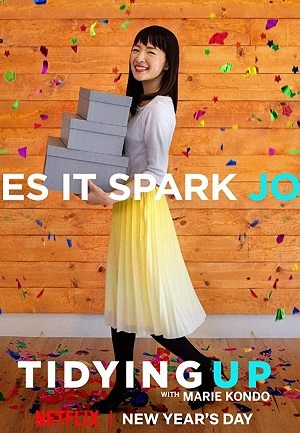 Ordem na Casa com Marie Kondo Séries Torrent Download capa