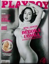 Debora Comba en Playboy