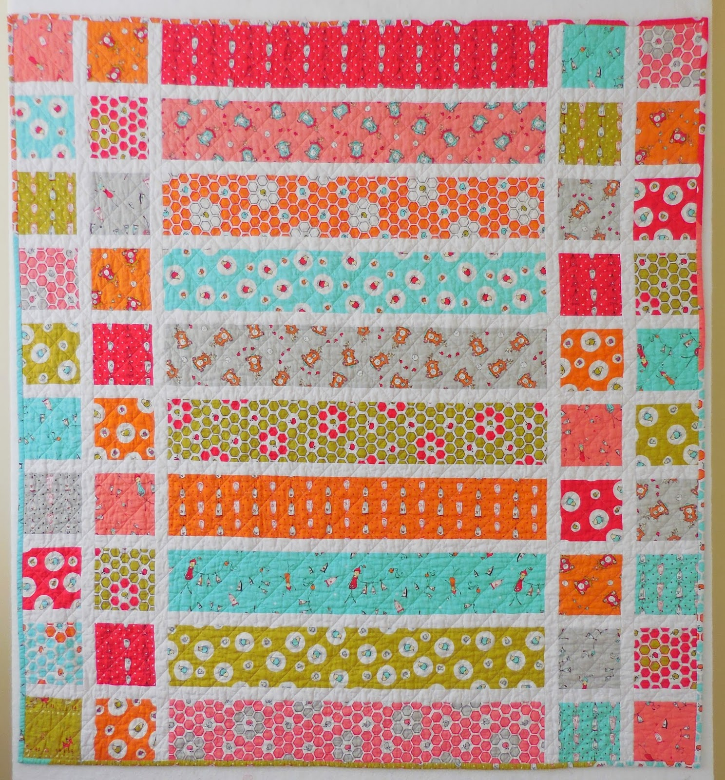 Free... easy quilt pattern!