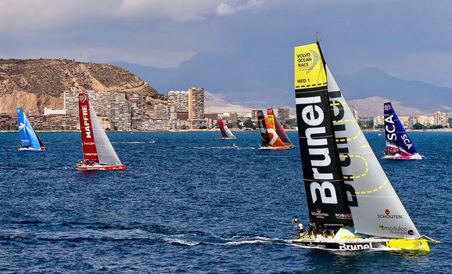 Competición de la Volvo Ocean Race 2014