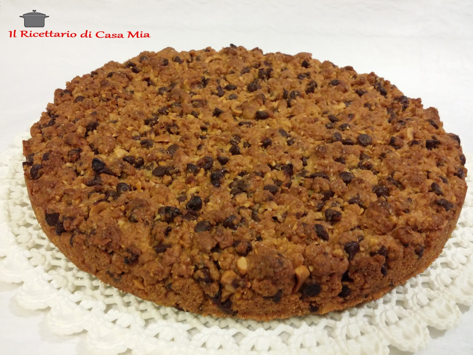 Il Ricettario Di Casa Mia Torta Cookies