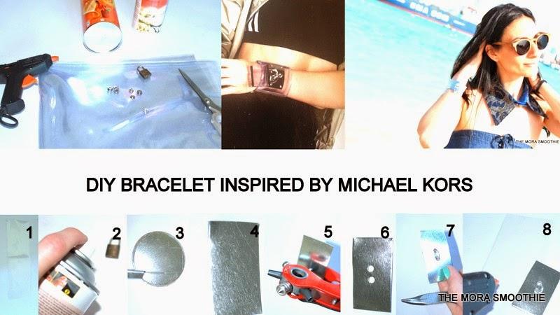 DIY, DIY bracelet, bracelet, diyblog, diyblogger, diy fashion, themorasmoothie, Michael Kors, DIY MIchael Kors, fashion, fashionblog, fashionblogger, tutorial, tutorial bracelet, craft, diyproject, diy craft, craft