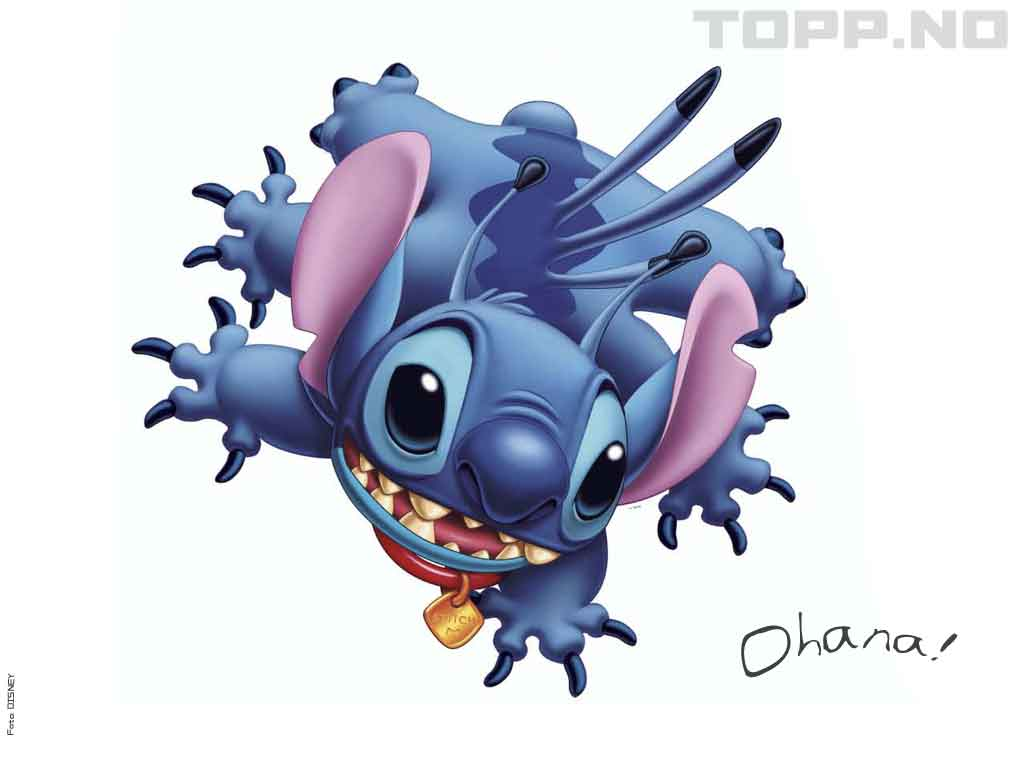 Free Download Stitch Ohana Wallpapers Wallpapers Area