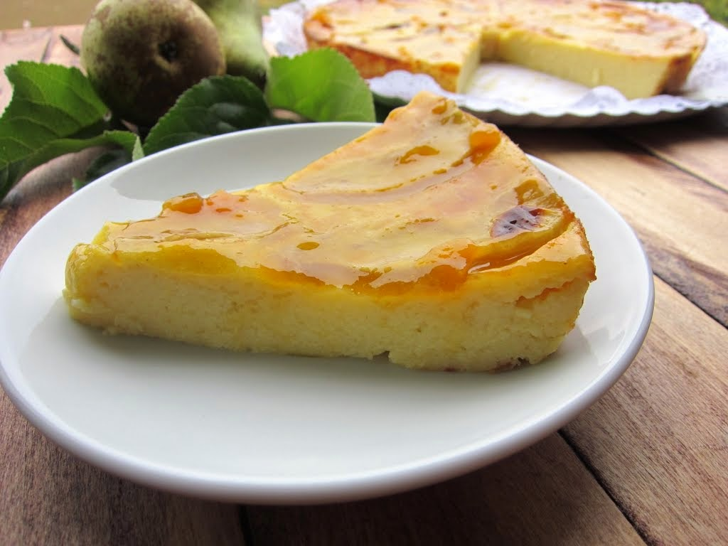 Una pincelada en la cocina tarta de pera f cil for Maduras en la cocina