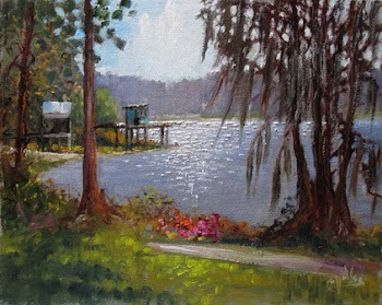 """ Spring Vista, Lake Winott"""