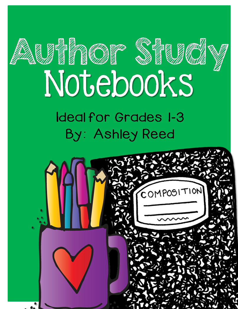 http://www.teacherspayteachers.com/Product/Author-Study-Notebook-715540