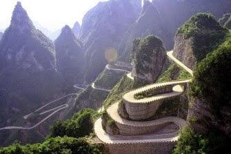 10 Jalan 'Surga' di Dunia