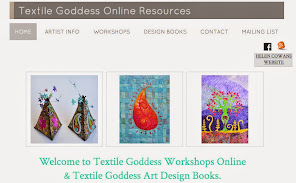 Online Workshops in textile art