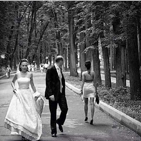 Wedding photo go viral