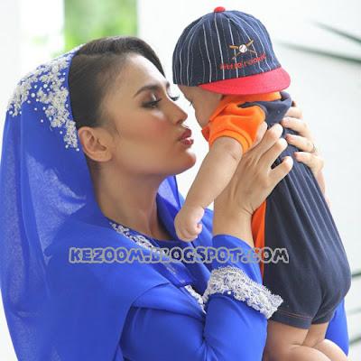 ... SENSASI !!: 10 Gambar Majlis Aqiqah Dan Cukur Jambul Anak Fasha Sandha