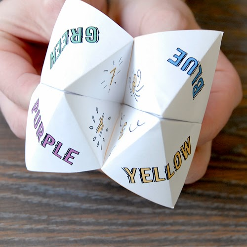 Research Archive Design X100 Paper Fortune Teller