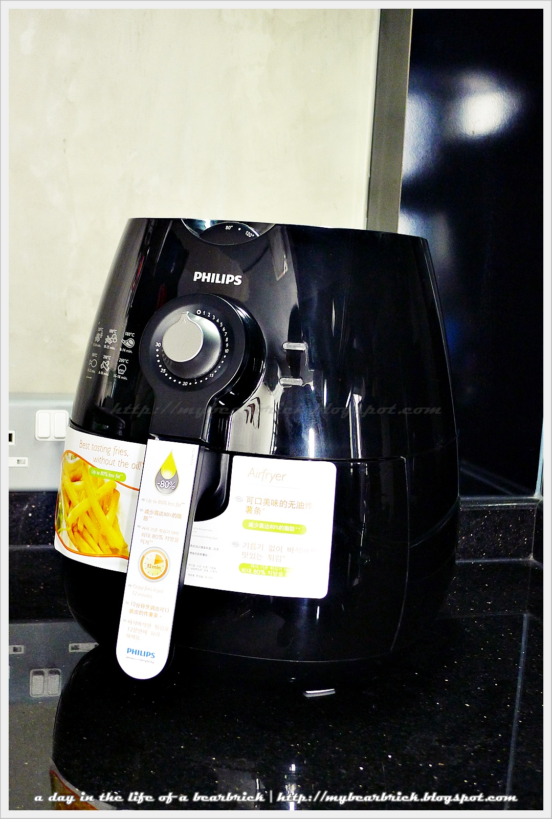 A day in the life of a be rbrick philips air fryer the Modern home air fryer