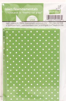 Lawn Fawn Card blanks