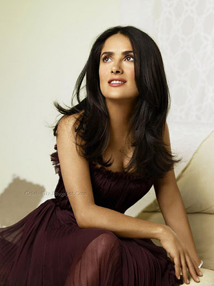 Fresh Look Like Salma Hayek Hairstyles 06
