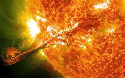 Matahari akan menjadi terbalik tak lama lagi