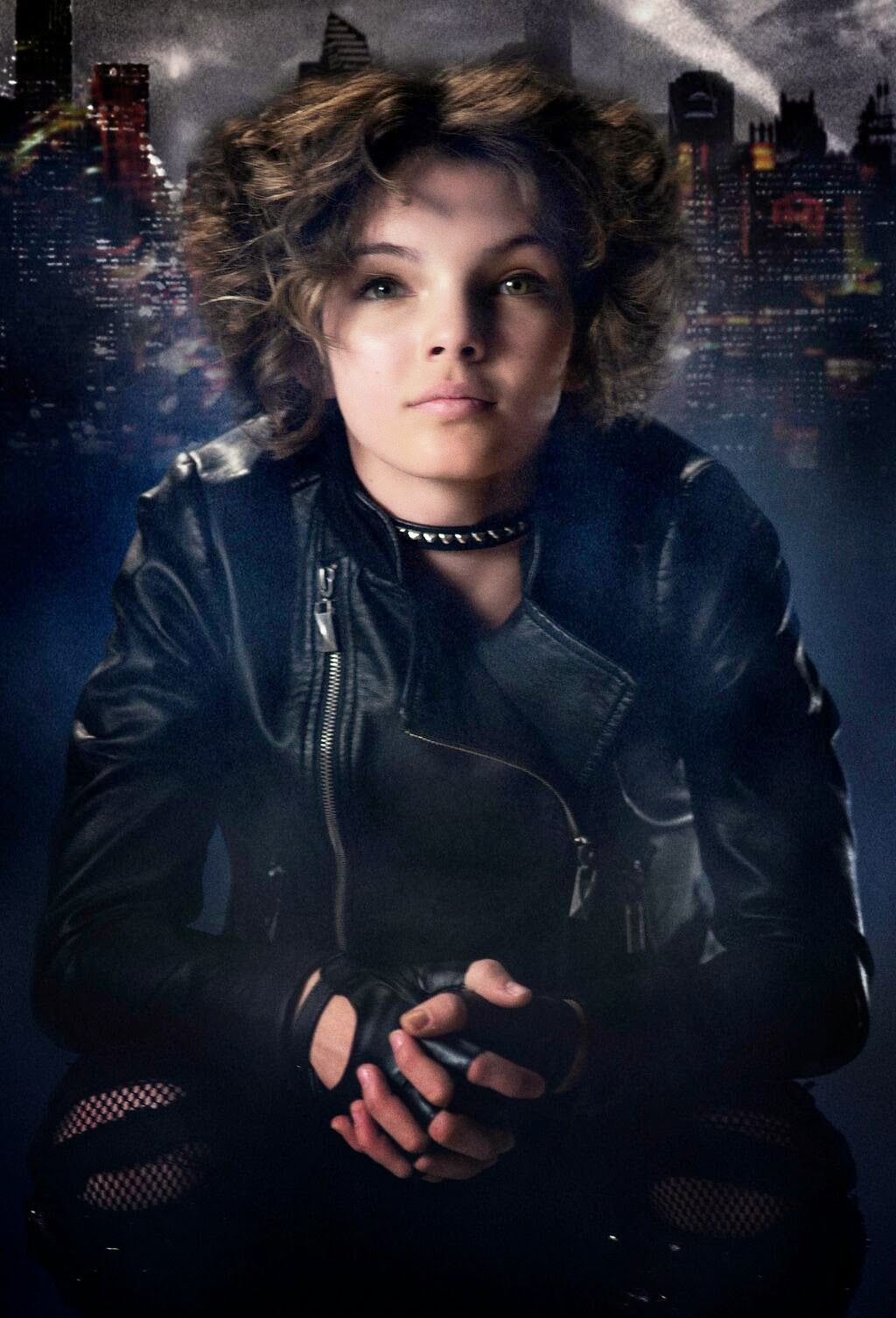 "Imagen oficial de Camren Bicondova como Catwoman en ""Gotham"""