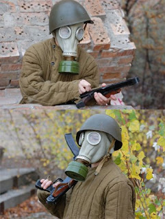 gas mask soviet russian halloween costume